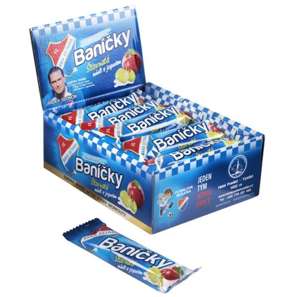 Baníčky - Müsli tyčinky jogurtové