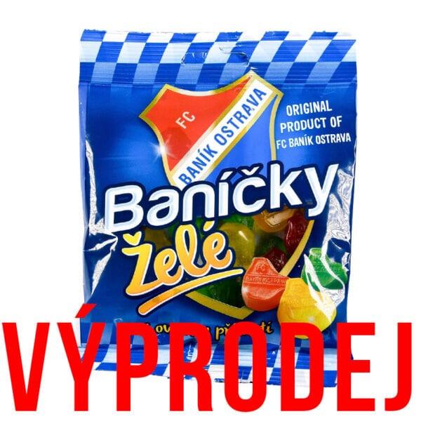 banicky zele bonbony vyprodej - VÝPRODEJ! Baníčky Želé s ovocnou příchutí