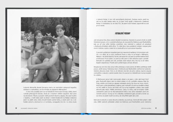 "milan baros kniha carusel 3 - Kniha ""Milan Baroš: Opravdová legenda"" s podpisem"